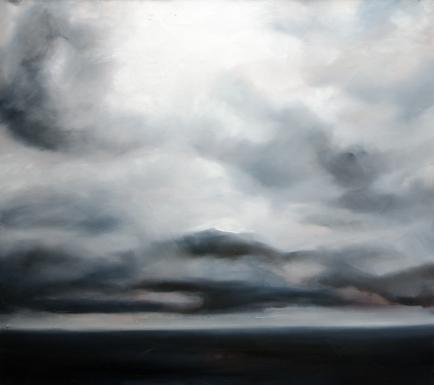 4 x 4.5' Oil on Canvas