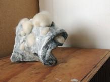 object4. Clay, slag, wool